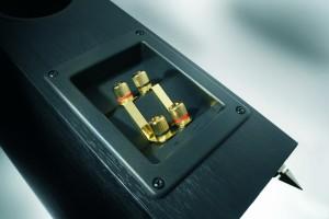 Anschlüsse für Lautsprecherkabel
